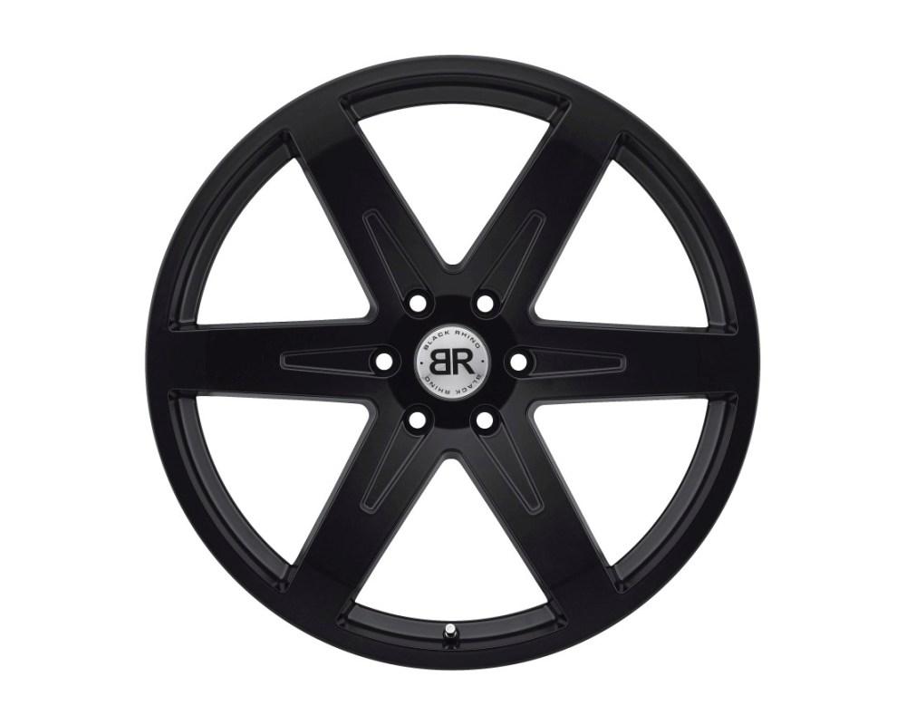 Black Rhino Peak Matte Black Wheel 22x9.5 6x139.70 6x5.5 25mm CB112