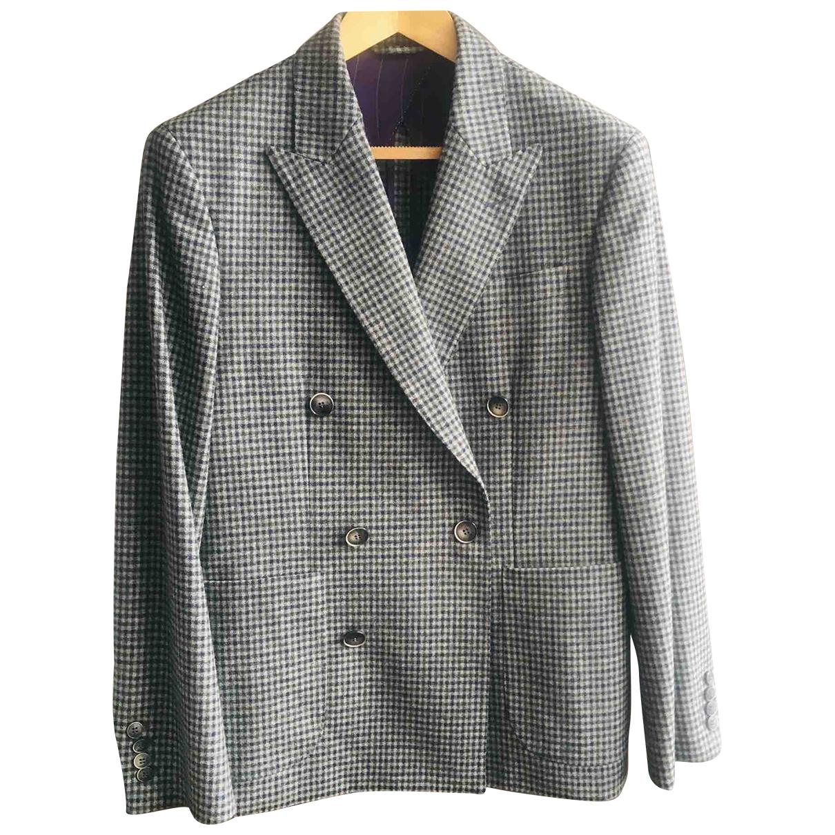 Hackett London \N Grey Wool jacket  for Men 40 UK - US