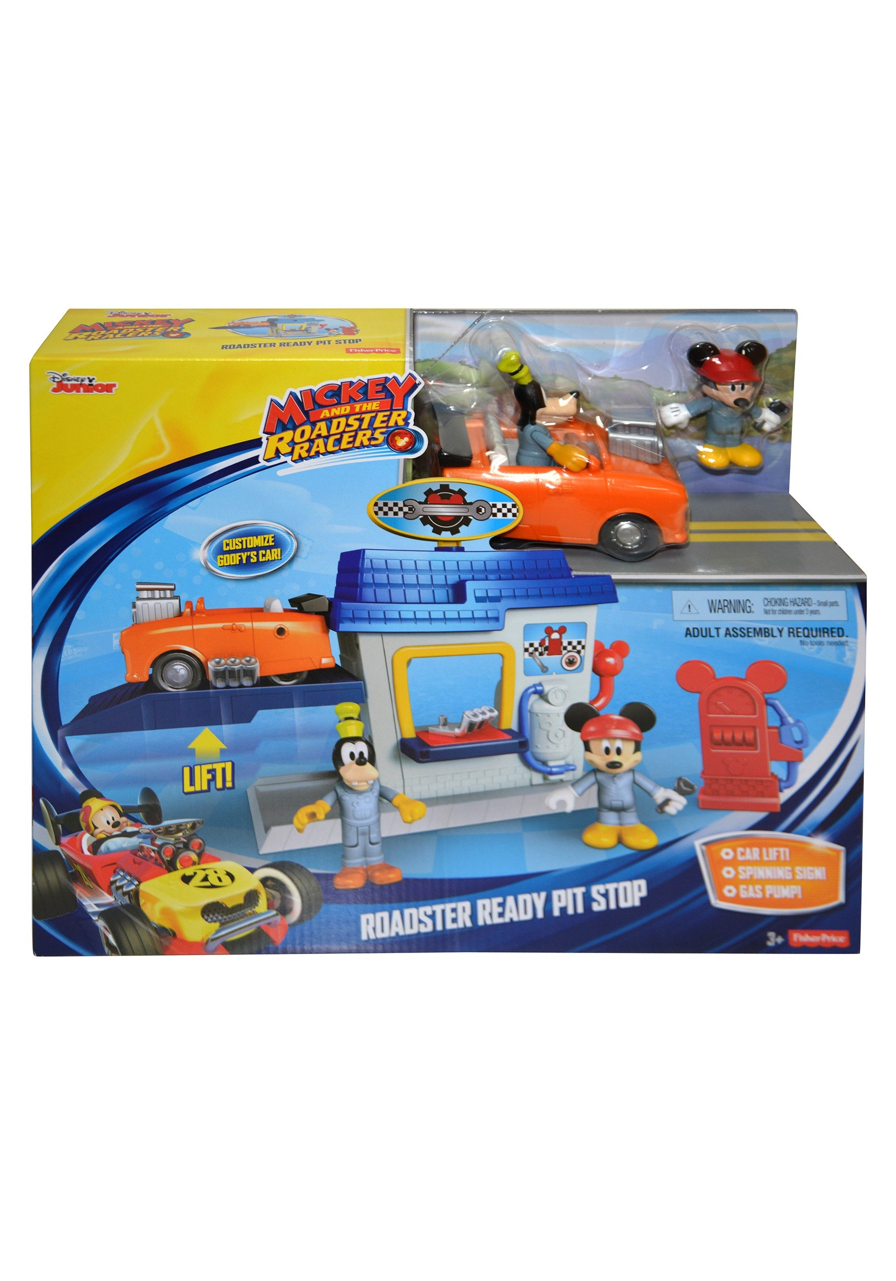 Disney Mickey and the Roadster Racers Fisher-Price Toys