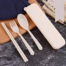 4pcs Portable Cutlery Set