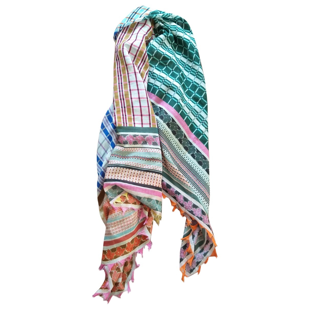 Faliero Sarti \N Multicolour Cotton scarf for Women \N