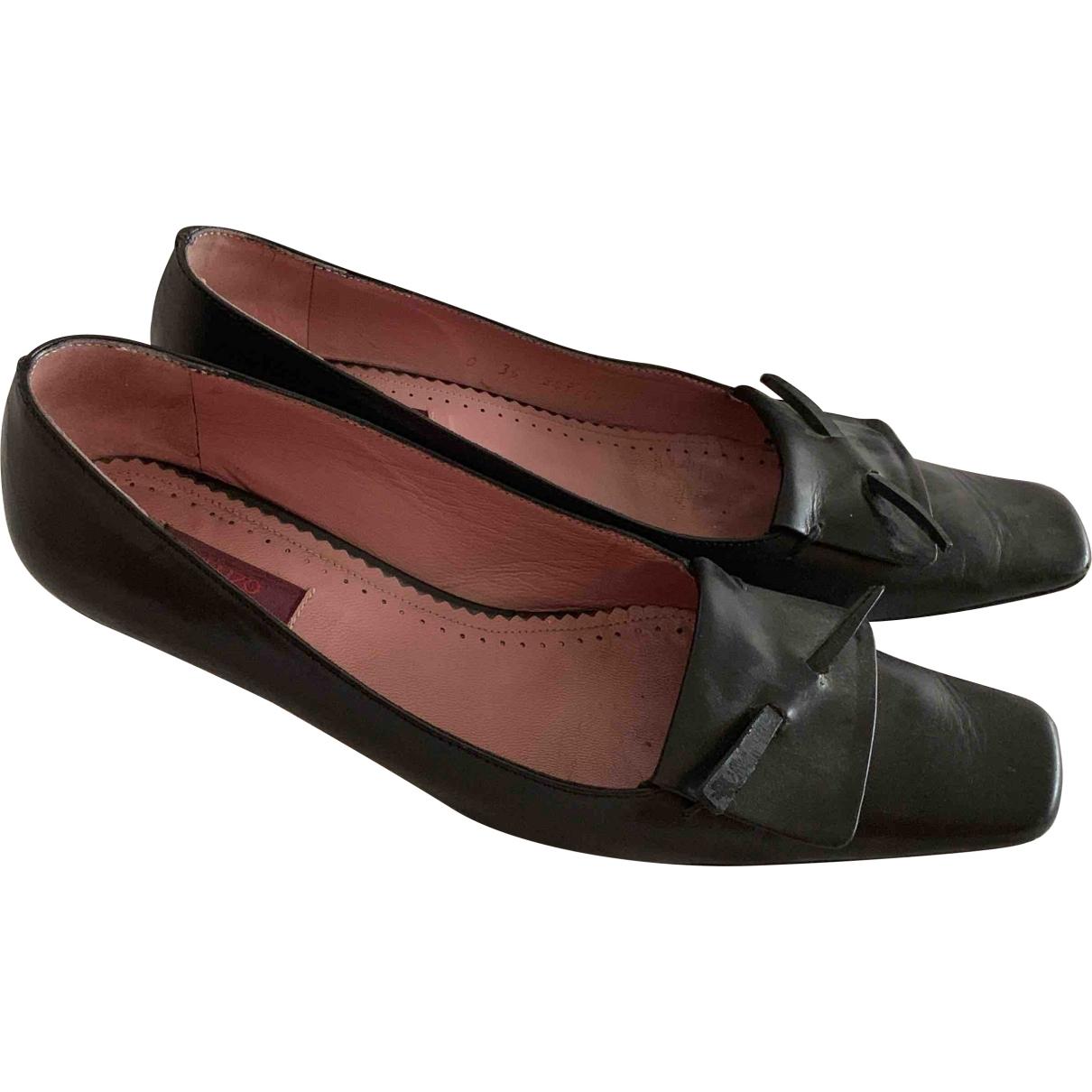 Kenzo \N Brown Leather Heels for Women 36 EU