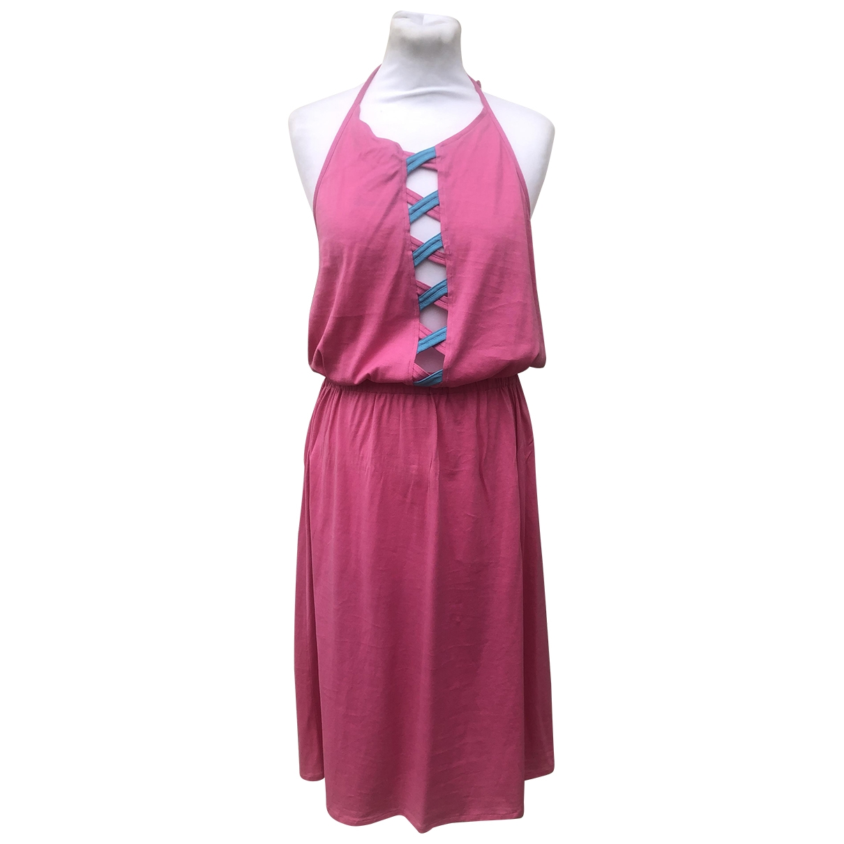 Valentino Garavani - Robe   pour femme en coton - rose