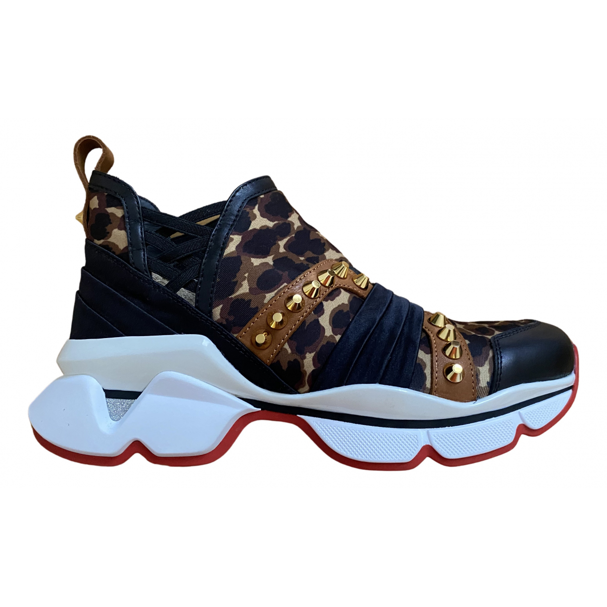 Christian Louboutin \N Multicolour Cloth Trainers for Women 36 IT