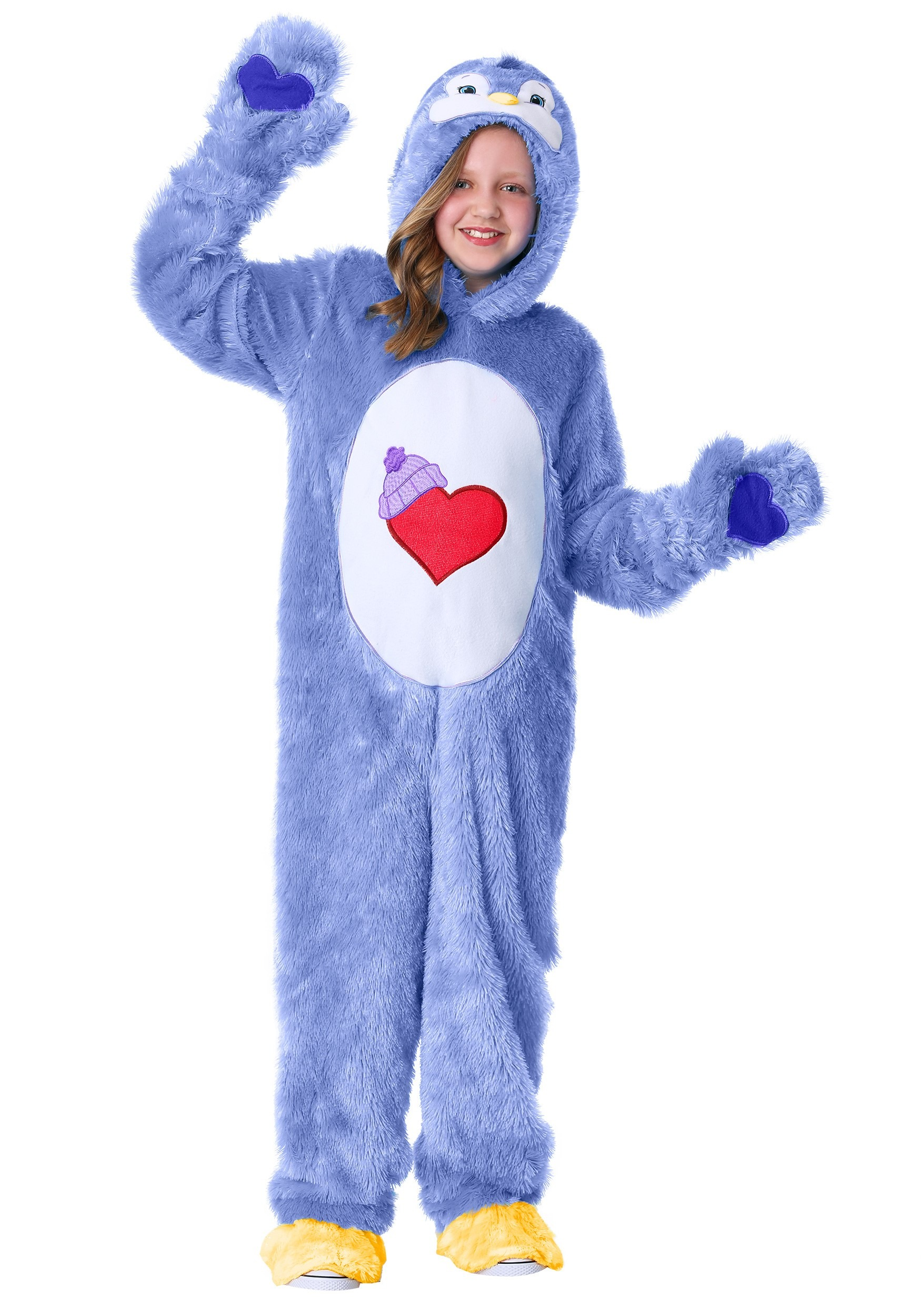 Cozy Heart Penguin Child care Bears Costume