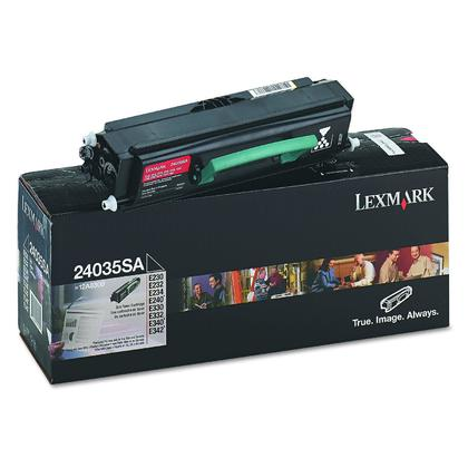 Lexmark 24035SA 12A8300 24015SA Original Black Toner Cartridge