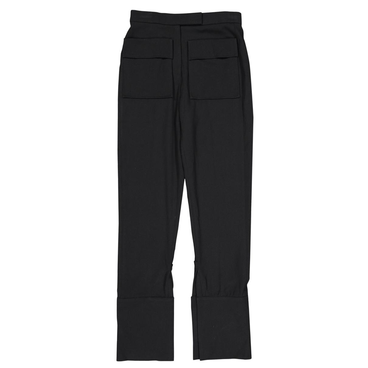 J.w. Anderson \N Black Trousers for Women 6 UK