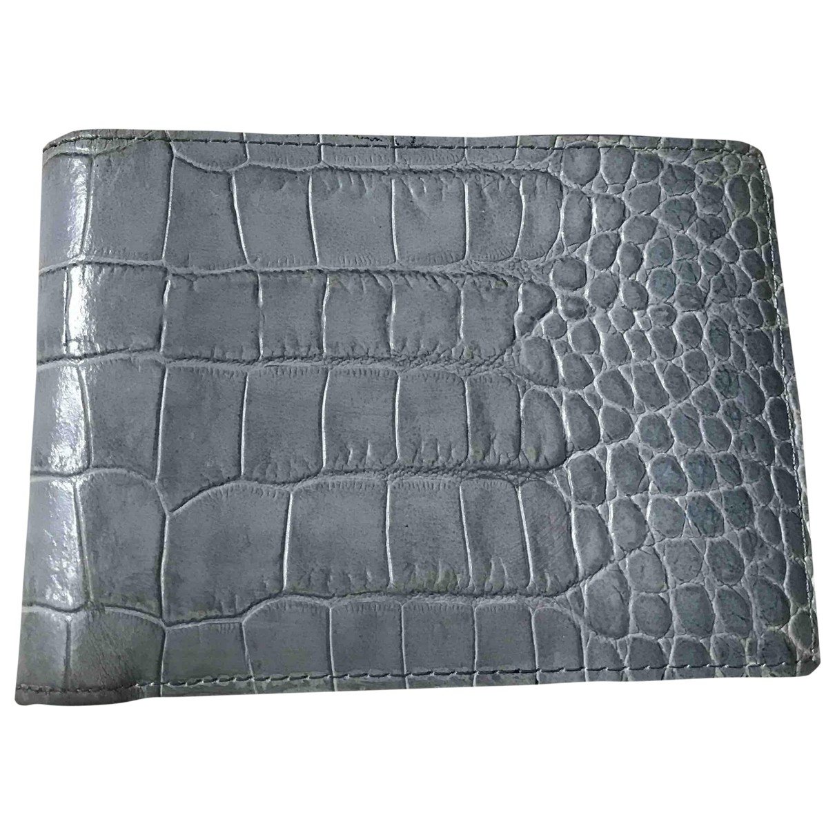 Marc By Marc Jacobs \N Grey Leather Small bag, wallet & cases for Men \N