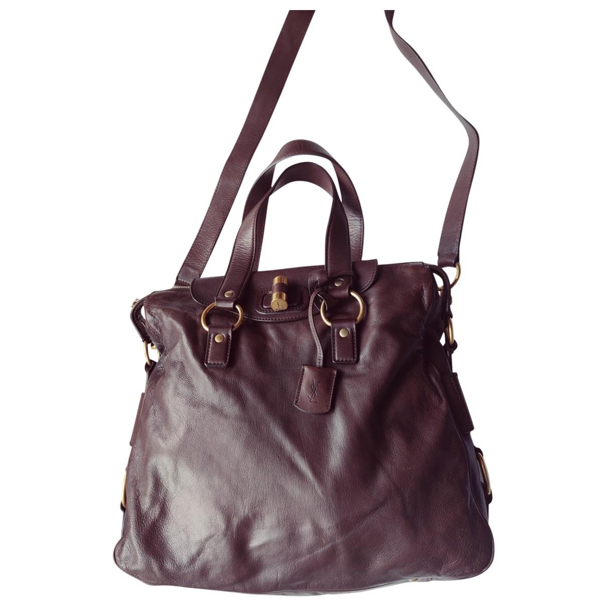 Yves Saint Laurent Muse Brown Leather handbag for Women \N
