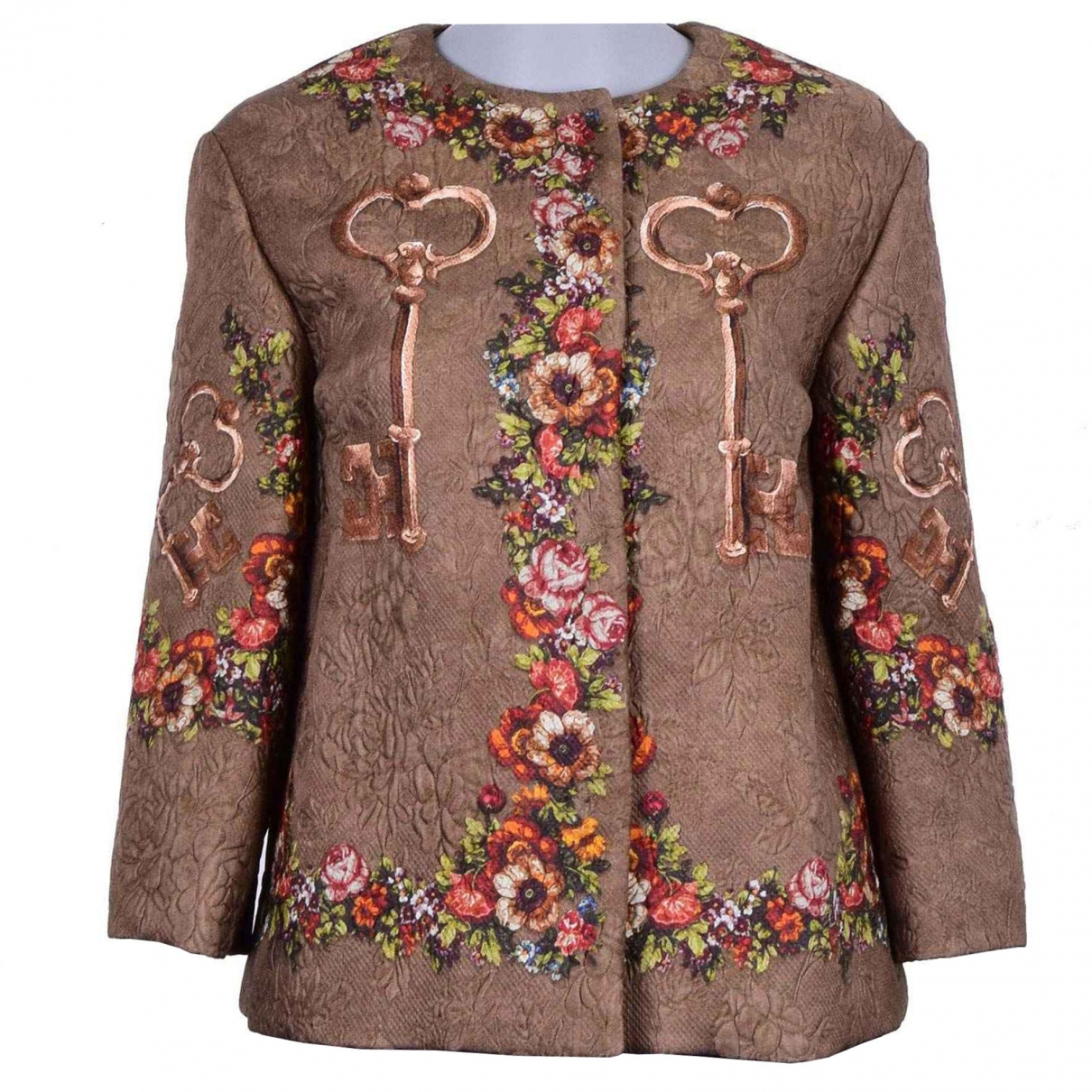Dolce & Gabbana \N Brown jacket for Women 38 IT