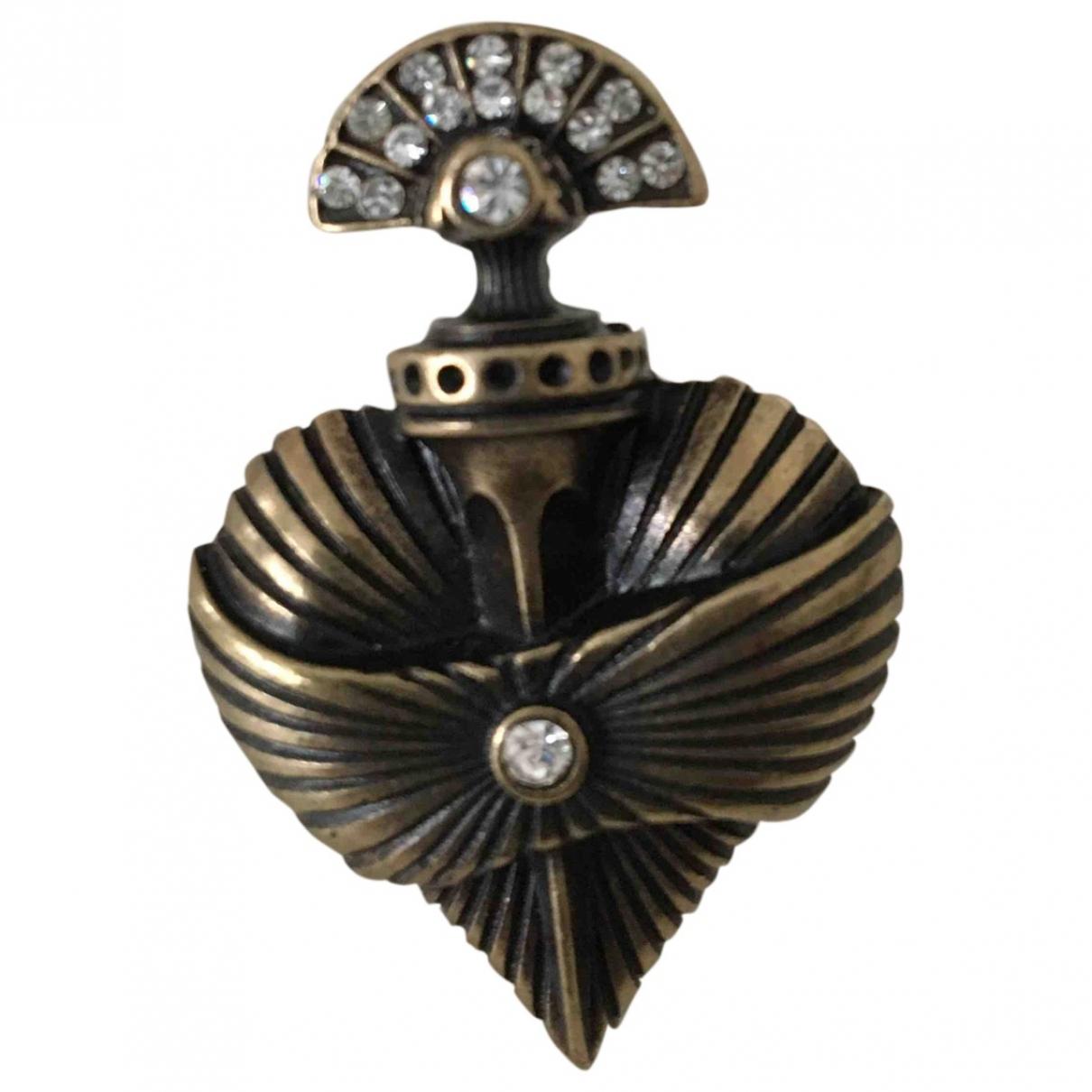 The Kooples - Bague   pour femme en metal - dore