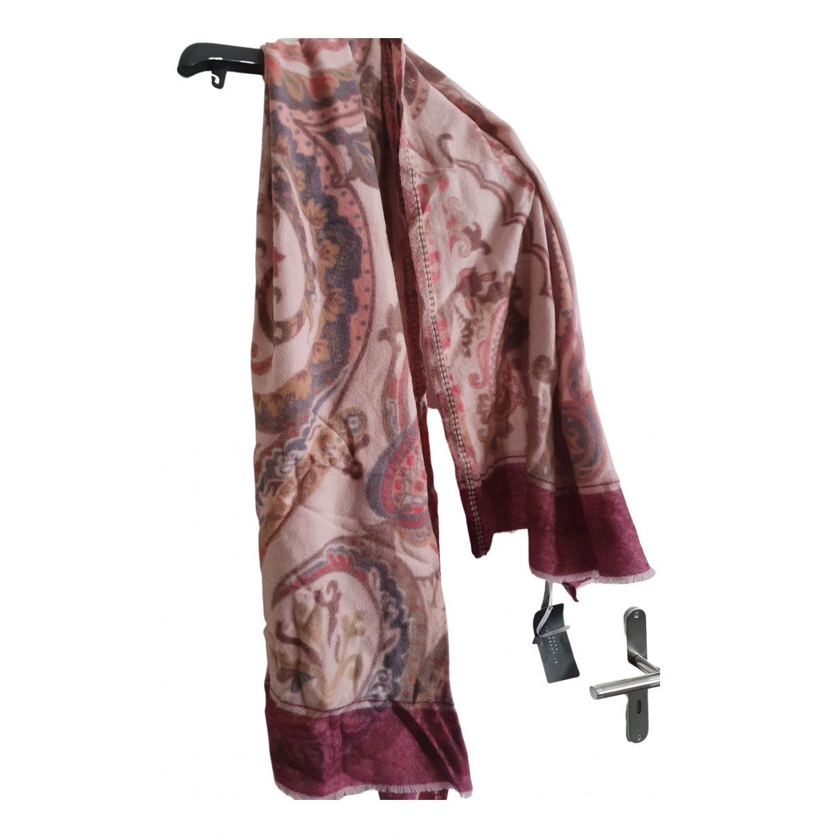 Zara \N Pink Wool scarf for Women \N