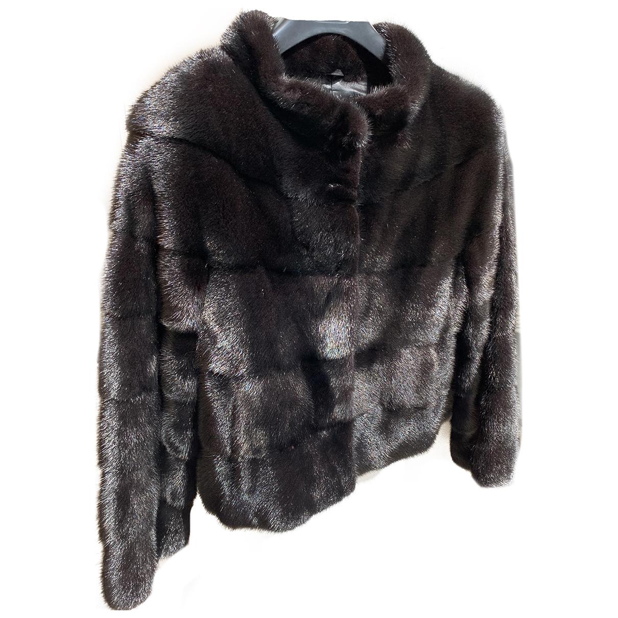 Rizal \N Black Mink jacket for Women 36 FR