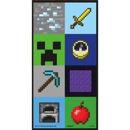 Minecraft 2 Lenticular Sticker Sheets Pour la fête d'anniversaire