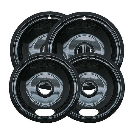 Range Kleen 4-pk. Drip Bowl, One Size , Black