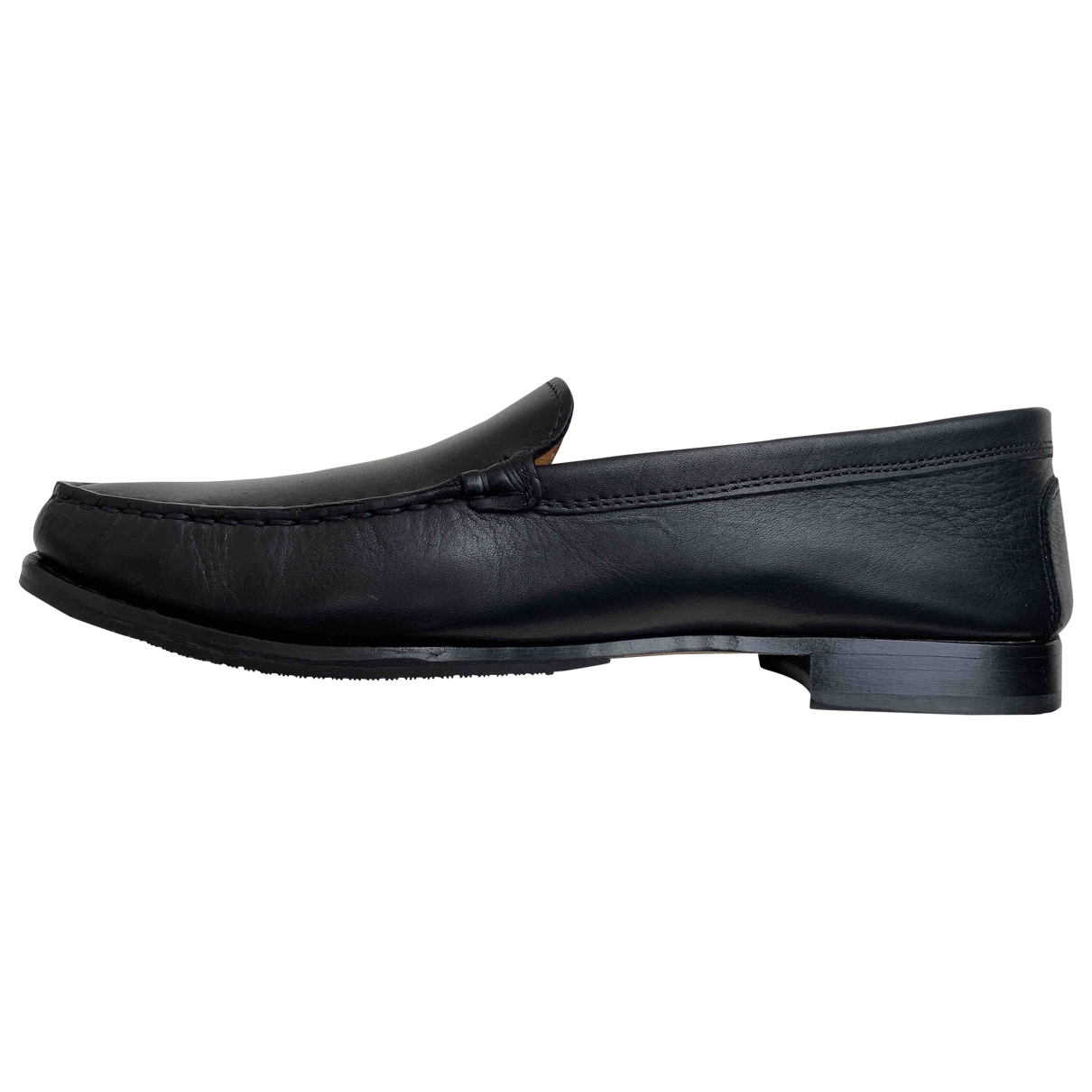 Russell & Bromley \N Black Leather Flats for Women 40.5 EU