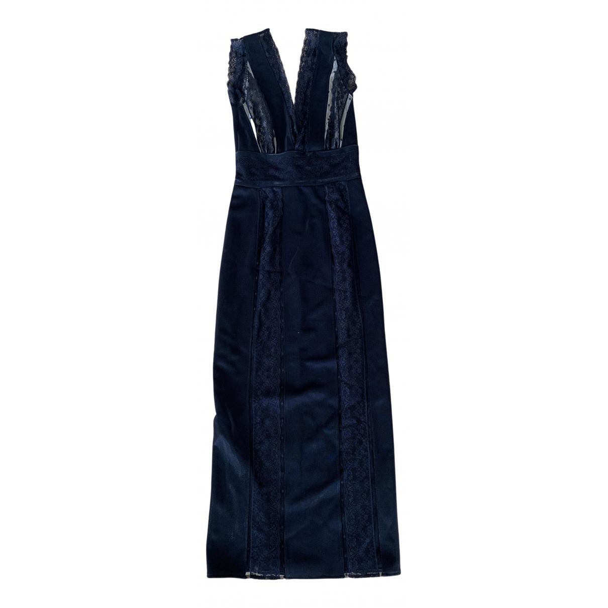 Pierre Balmain \N Kleid in  Schwarz Polyester