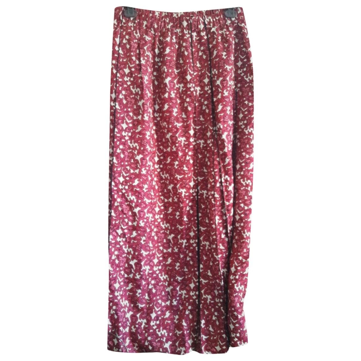 Marc Jacobs - Jupe   pour femme en soie - rose