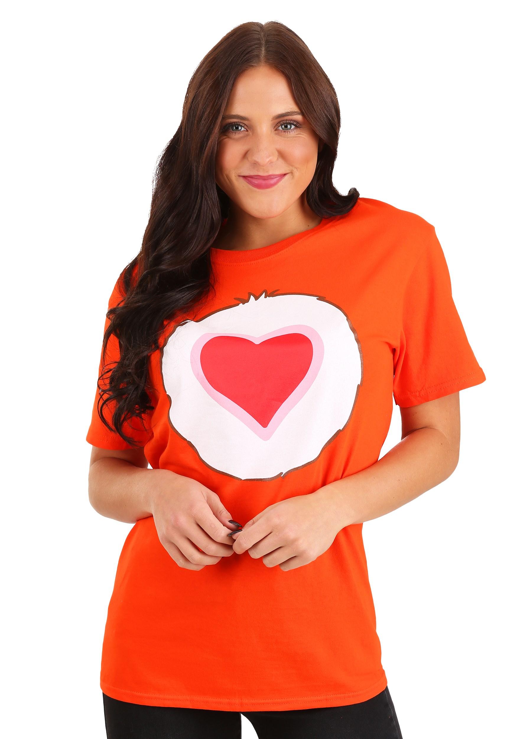 Tenderheart Bear Adult Costume Unisex T-Shirt