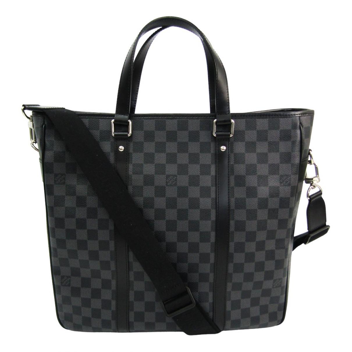 Louis Vuitton Tadao Anthracite Cloth bag for Men \N