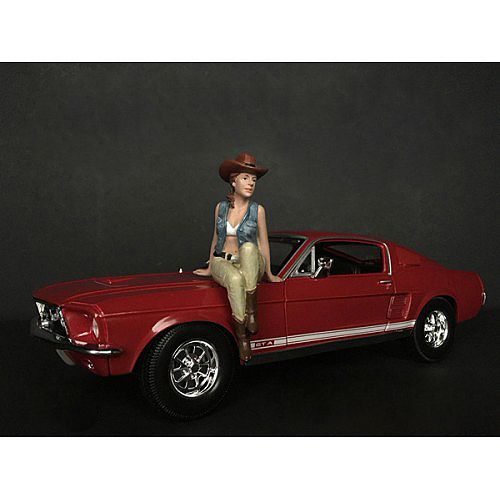 The Western Style Figurine VI for 1/24 Scale Models by American Diorama