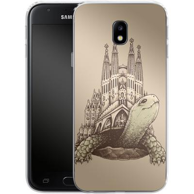 Samsung Galaxy J3 (2017) Silikon Handyhuelle - Slow Architecture von Enkel Dika