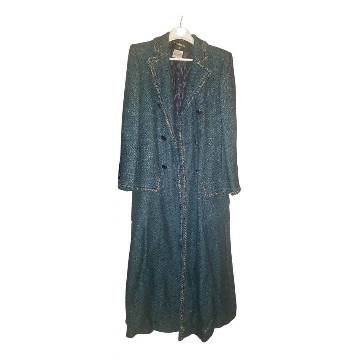 Chanel - Manteau   pour femme - vert