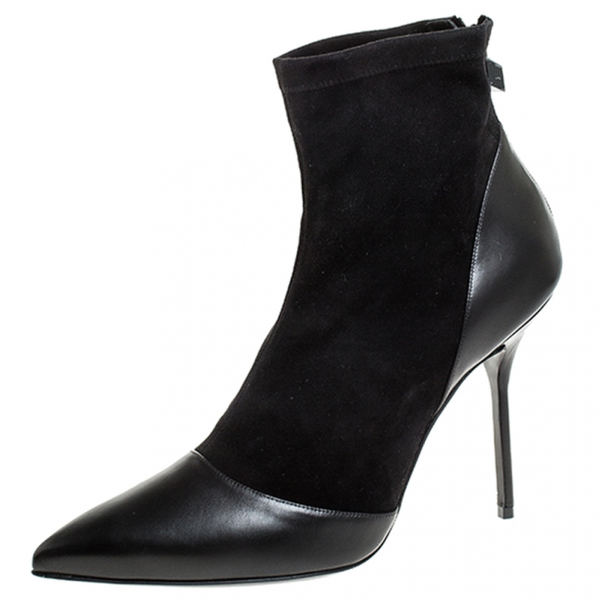 Pierre Hardy \N Black Leather Ankle boots for Women 10 US