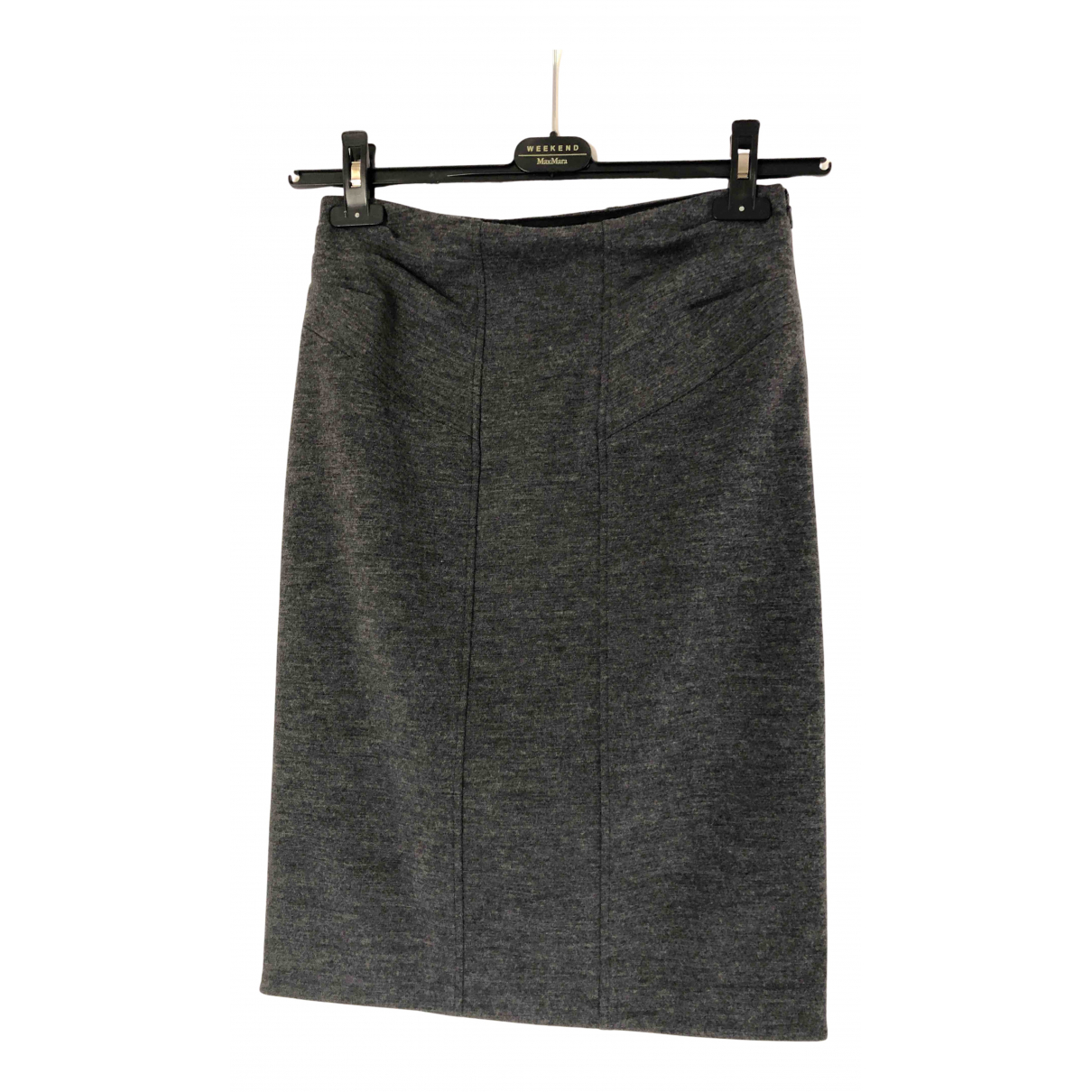 Mini falda de Lana Diane Von Furstenberg