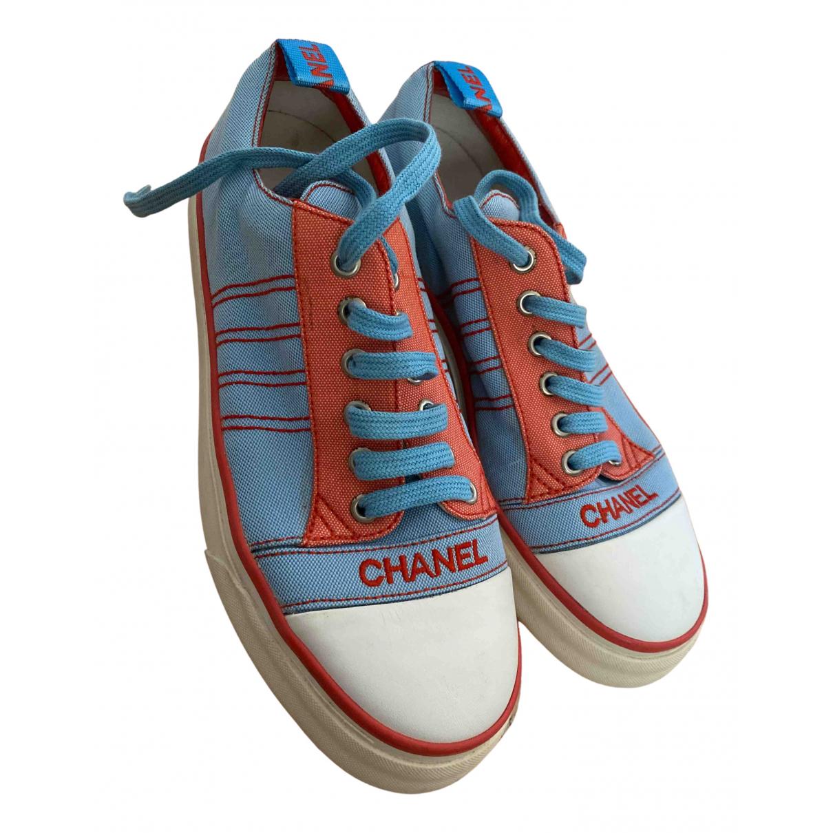 Deportivas de Lona Chanel