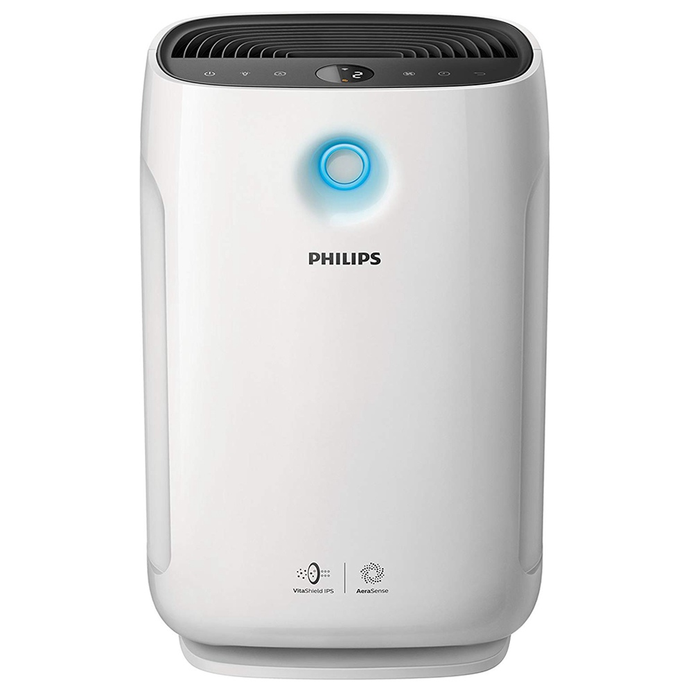 PHILIPS Air Purifier For Mites Bacteria Allergen Formaldehyd Removal - White