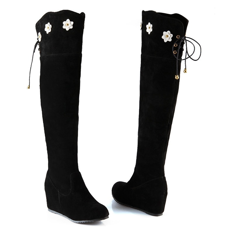 Ericdress Side Zipper Round Toe Thread Women's Boots