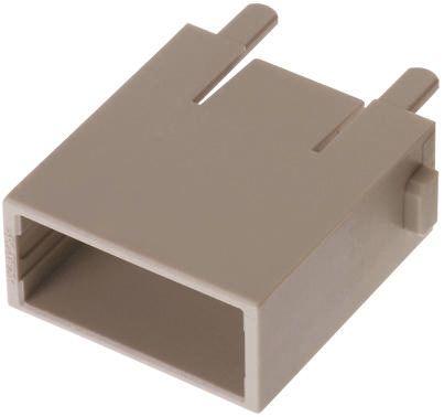 HARTING Han-Modular Male Module Case, 8 Way, Rated At 5A, 50 V, Han GigaBit, Han MegaBit, Han Shielded (2)