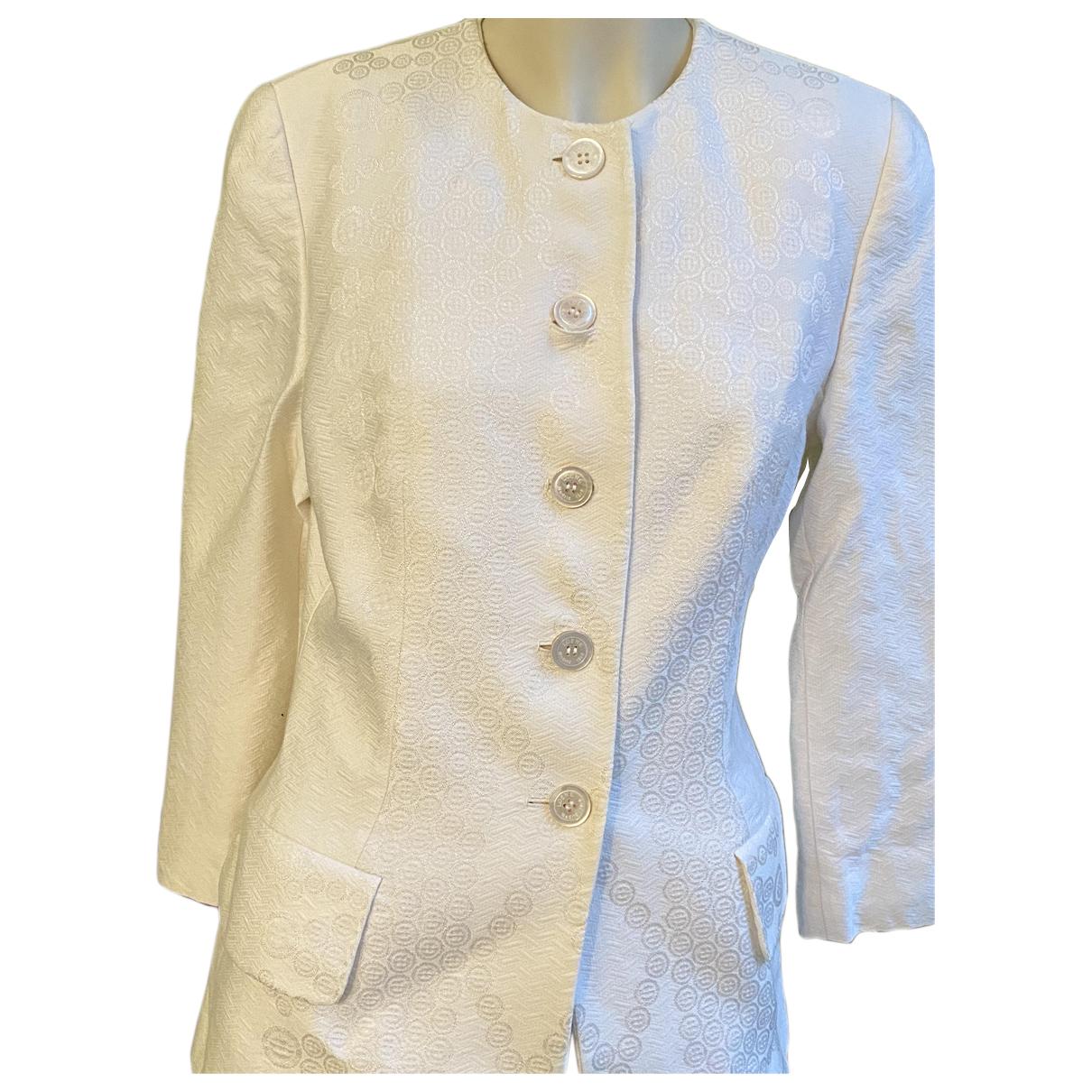 Loewe - Veste   pour femme en coton - blanc