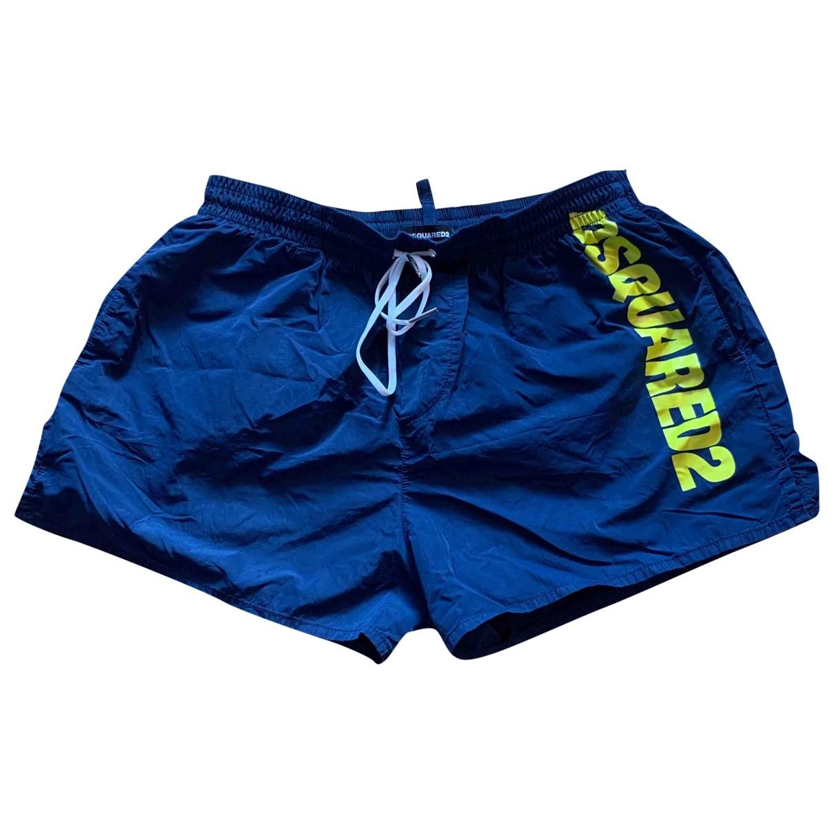 Dsquared2 \N Blue Swimwear for Men 46 IT