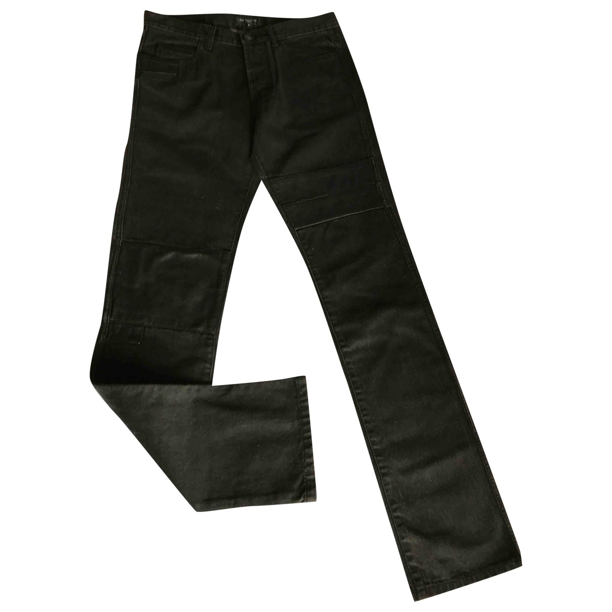 Surface To Air \N Black Denim - Jeans Trousers for Men 46 IT