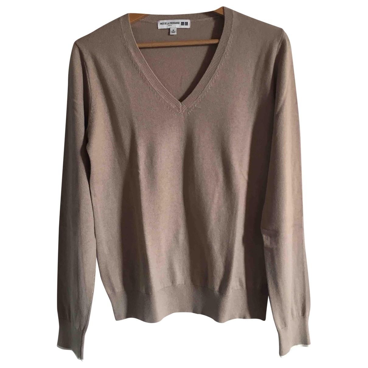 Uniqlo \N Beige Cotton Knitwear for Women M International