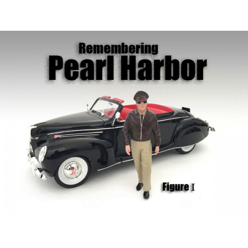 Remembering Pearl Harbor Figure I For 124 Scale Models by American Diorama