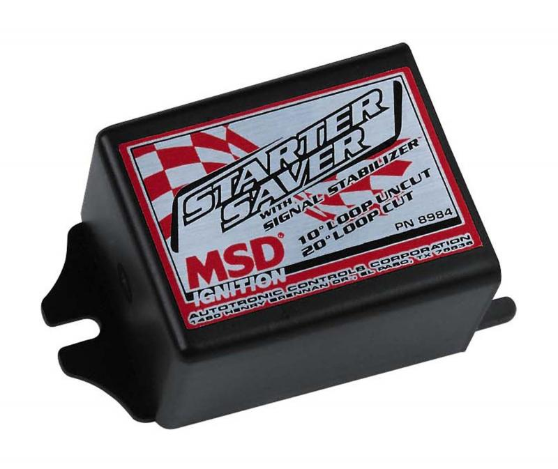 MSD Starter Saver with Signal Stabilizer