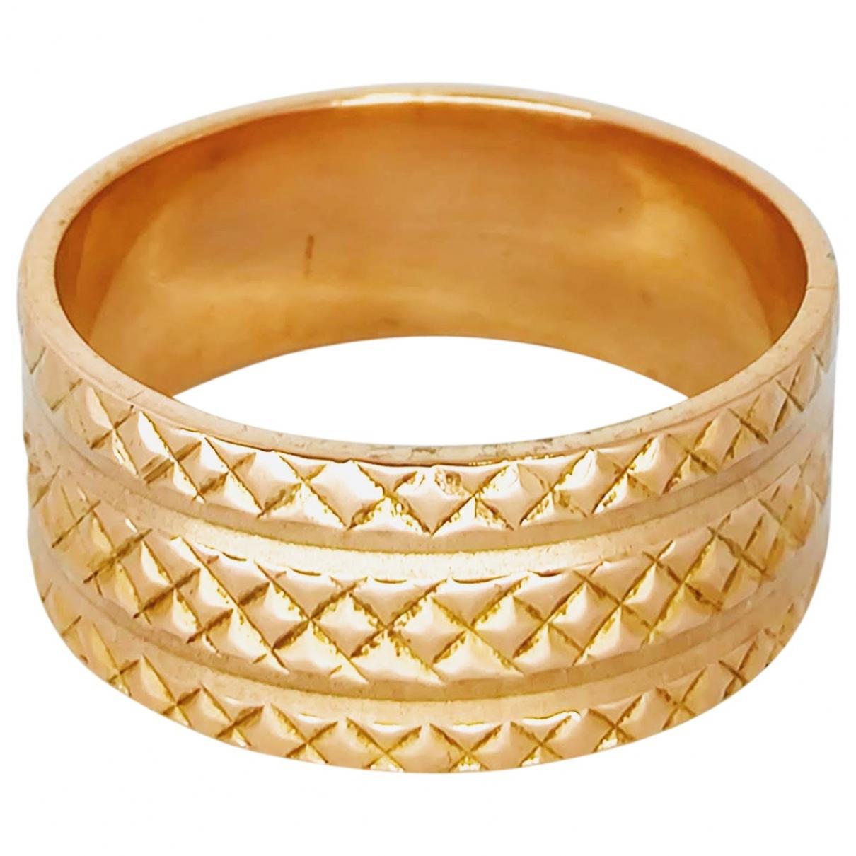 - Bague Jonc pour femme en or rose - dore