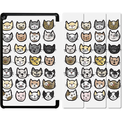 Amazon Fire HD 10 (2017) Tablet Smart Case - 28 Cats von caseable Designs
