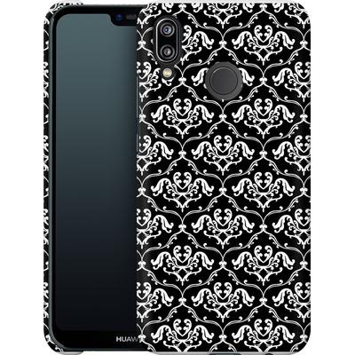 Huawei P20 Lite Smartphone Huelle - Black French Lillies von caseable Designs
