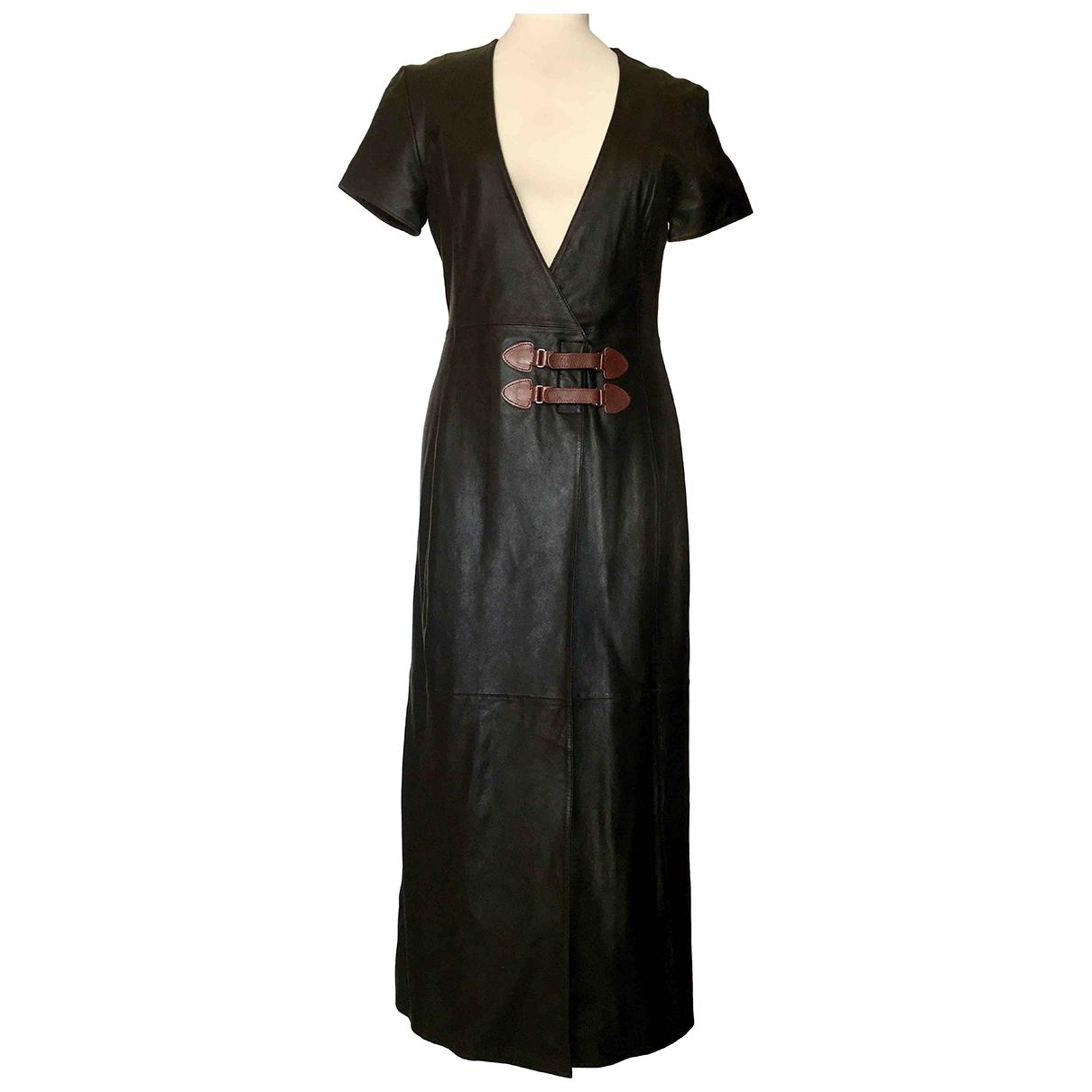 Maxi vestido de Cuero Non Signe / Unsigned