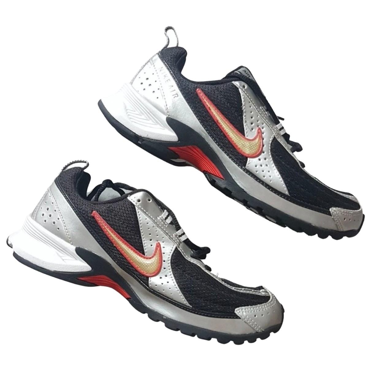 Nike \N Sneakers in  Bunt Leinen