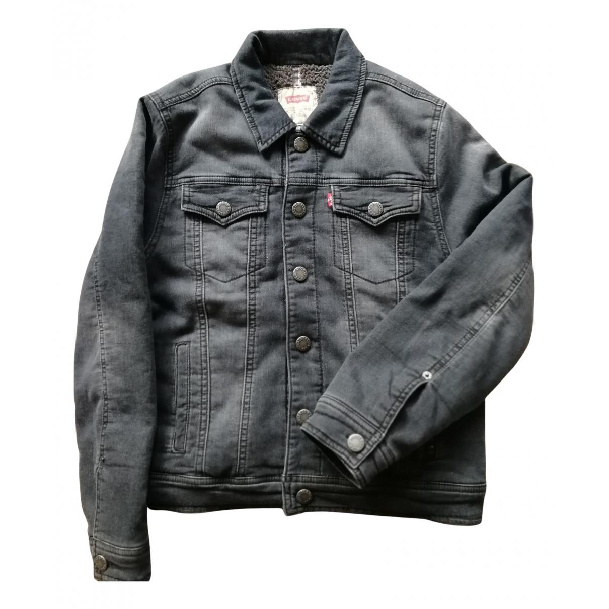Levis \N Jacke, Maentel in  Grau Denim - Jeans