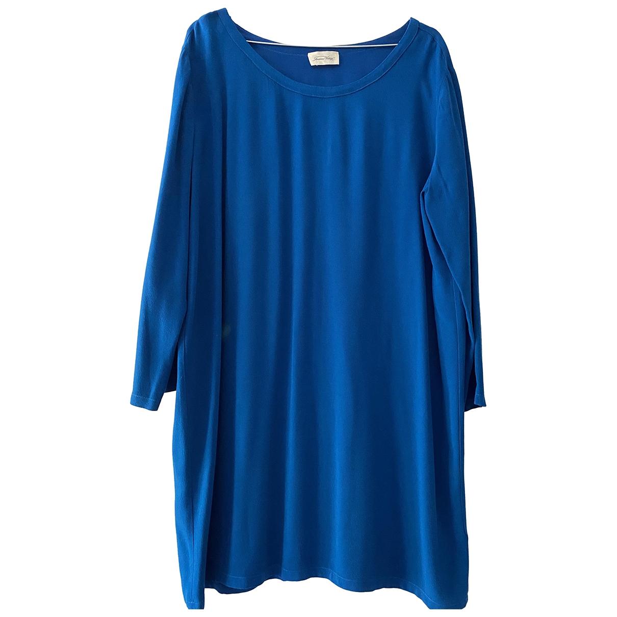 American Vintage \N Blue dress for Women 40 FR