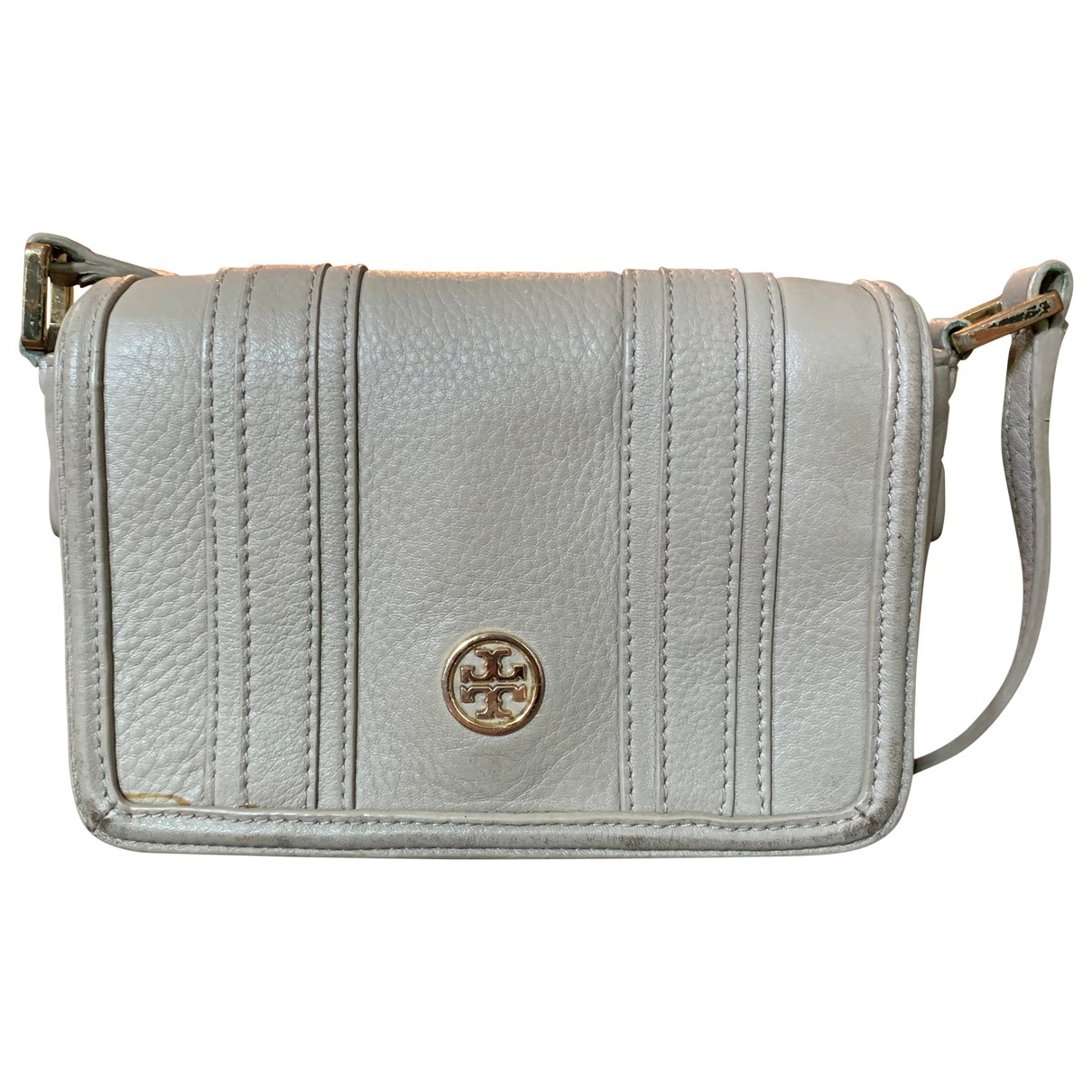 Tory Burch \N Grey Leather handbag for Women \N