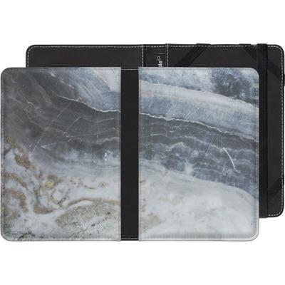 Sony Reader PRS-T1 eBook Reader Huelle - Desaturated Marble von Emanuela Carratoni
