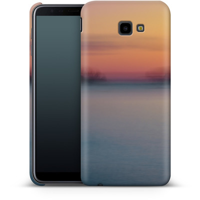 Samsung Galaxy J4 Plus Smartphone Huelle - Sea Sunset Abstract 2 von Joy StClaire