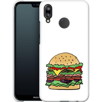 Huawei P20 Lite Smartphone Huelle - Burger  von caseable Designs